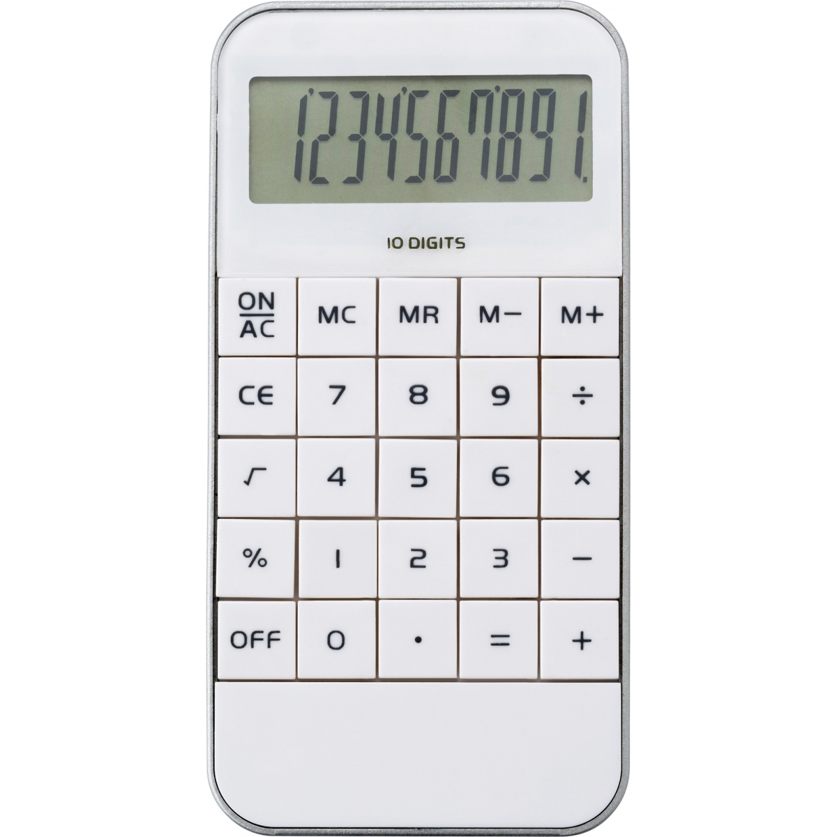 Calculator | Zilver | Wit